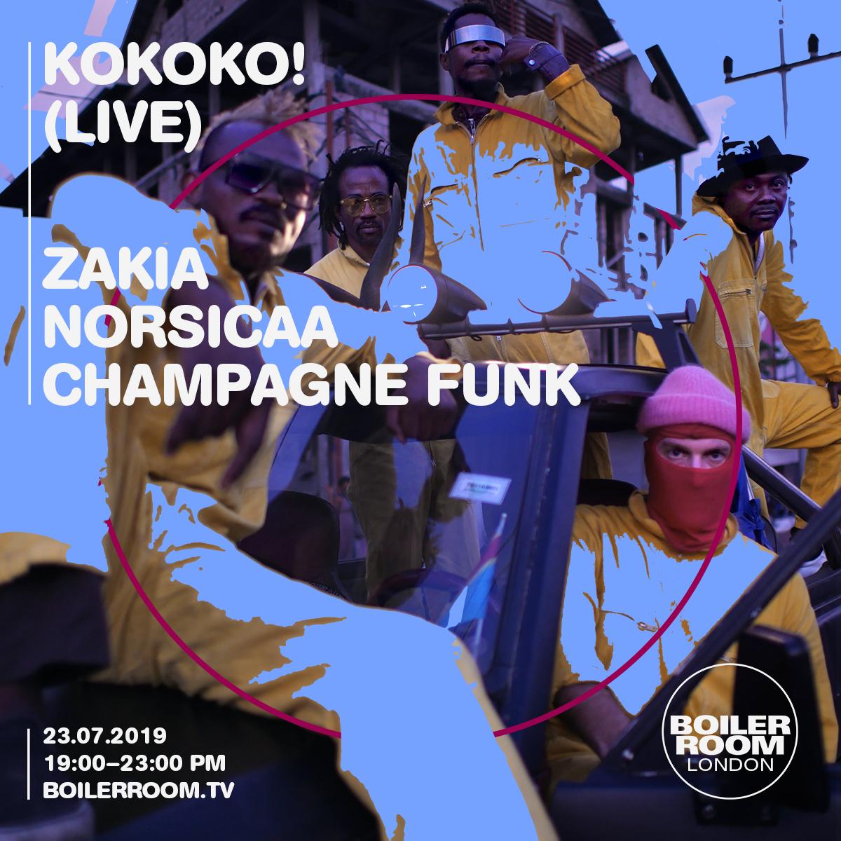KOKOKO! Flyer Image
