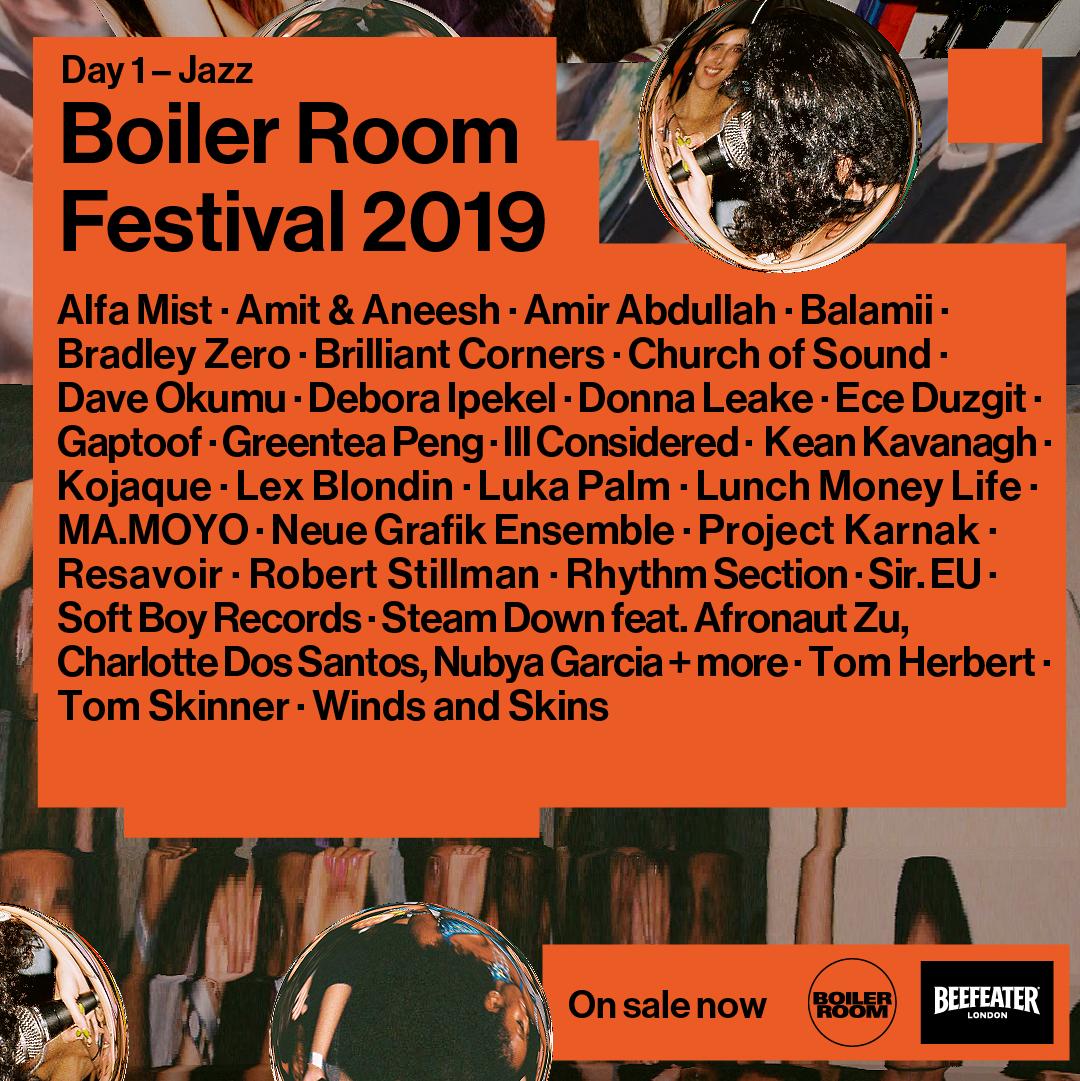 Boiler Room Festival Day 1: Jazz Flyer Image