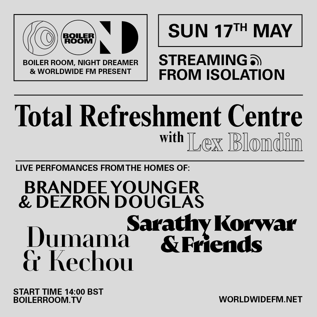 Streaming From Isolation with Night Dreamer & Worldwide FM - #10 Flyer Image