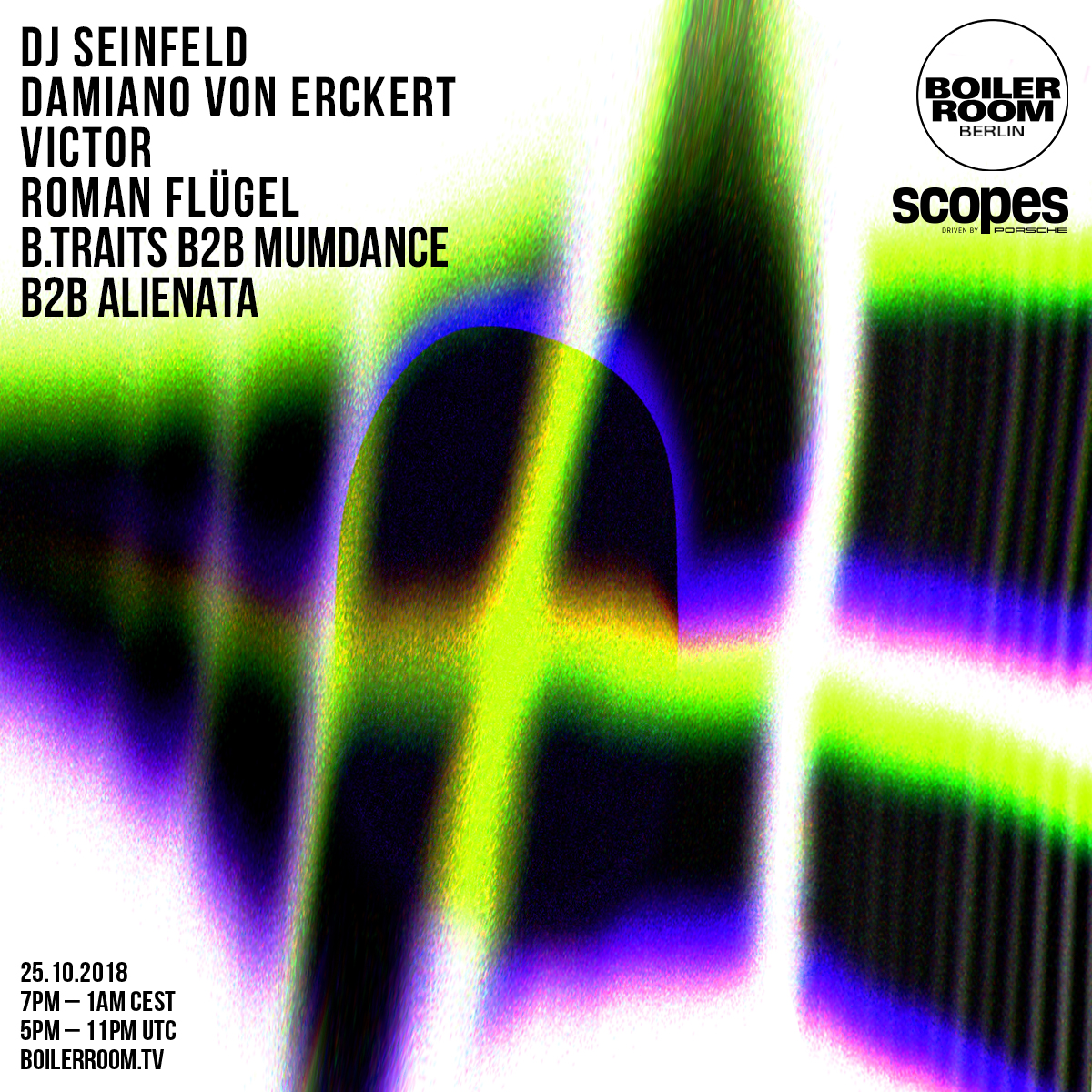Scopes x Boiler Room Berlin Flyer Image