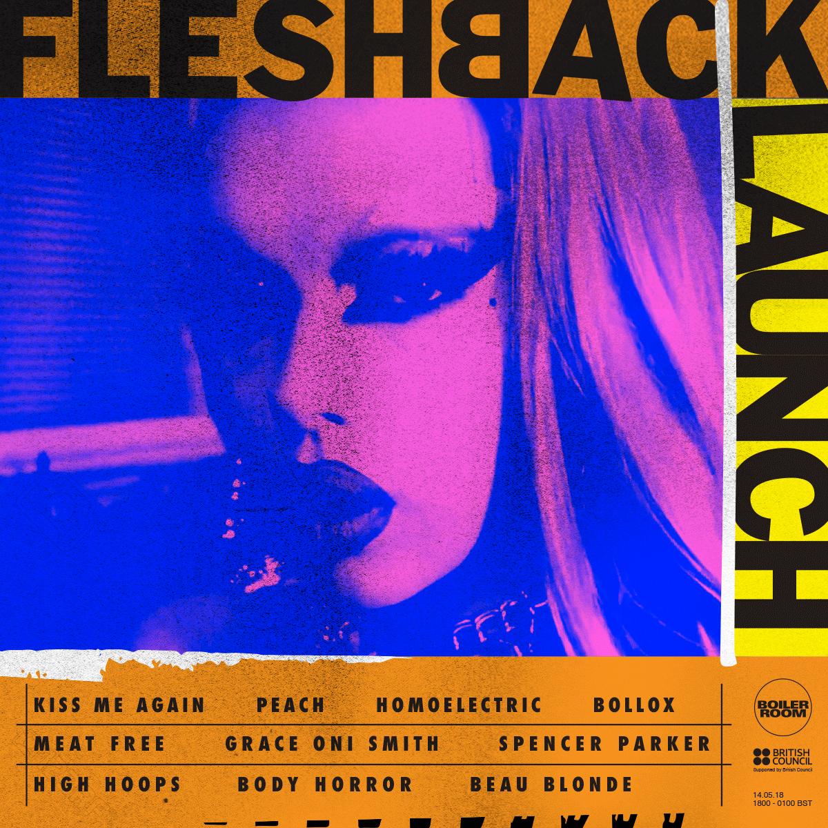 Fleshback Flyer Image