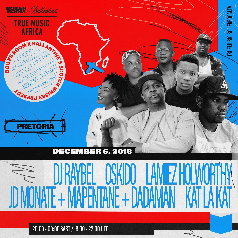 TRUE MUSIC AFRICA: PRETORIA Flyer Image
