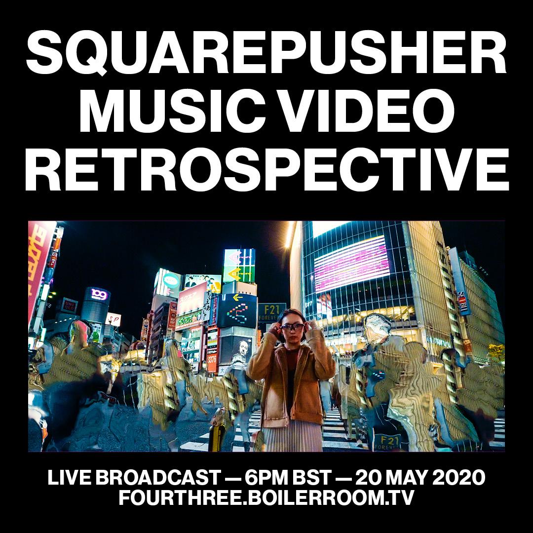 Squarepusher:  Music Video Retrospective Flyer Image