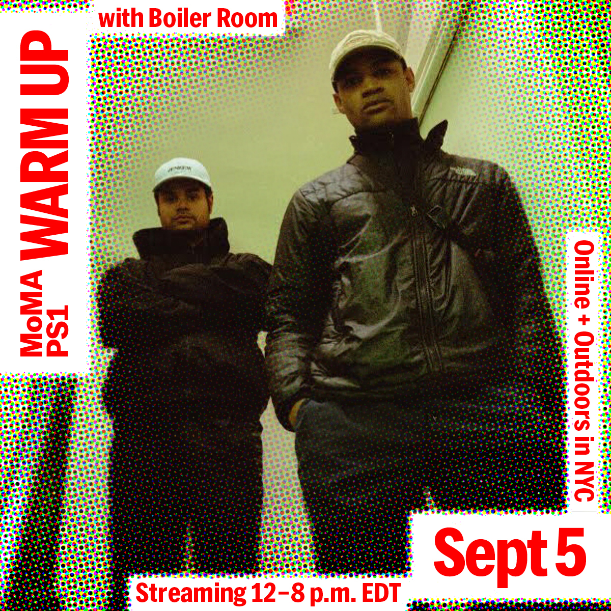 MoMA PS1: Warm Up Flyer Image